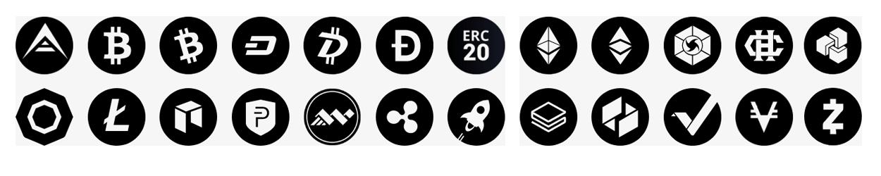 Ondersteunde Cryptocurrencies Ledger Nano S