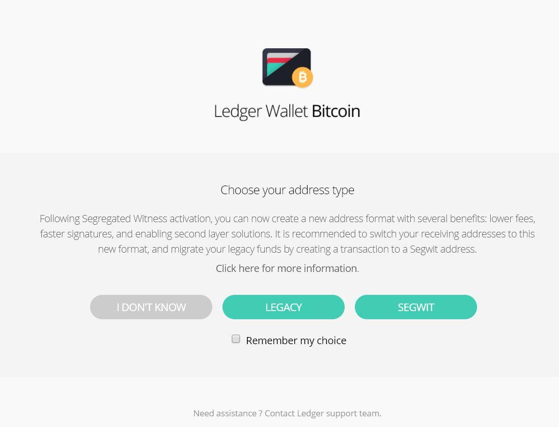 De Litecoin app openen op een Nano S