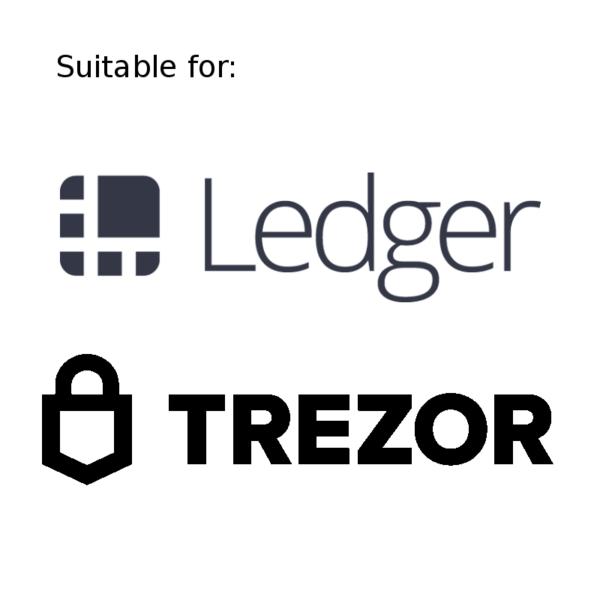 Cryptosteel geschikt voor Ledger en Trezor