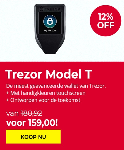 Black Friday Trezor Model T