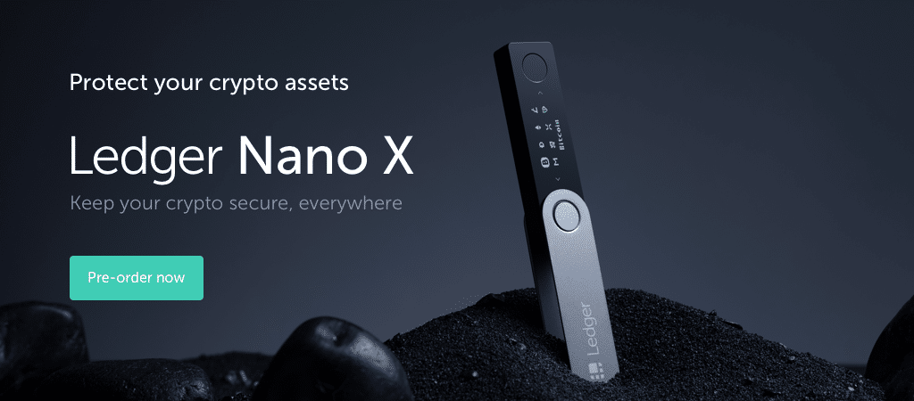 Pre order Ledger Nano X