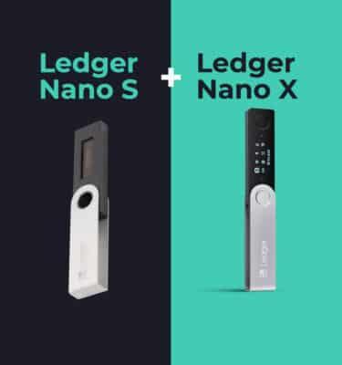 Ledger Nano X en Ledger Nano X voordeelbundel