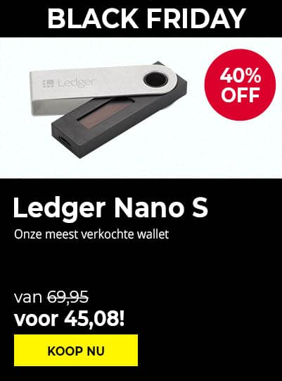Ledger Nano S - Black Friday 2020
