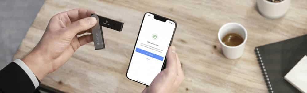 Hardware Wallet voor mobiel gebruik