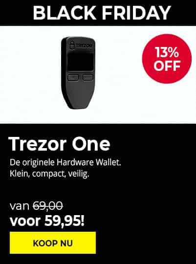 Trezor Model One - Black Friday 2020