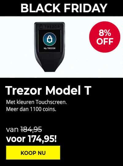 Trezor Model T - Black Friday 2020