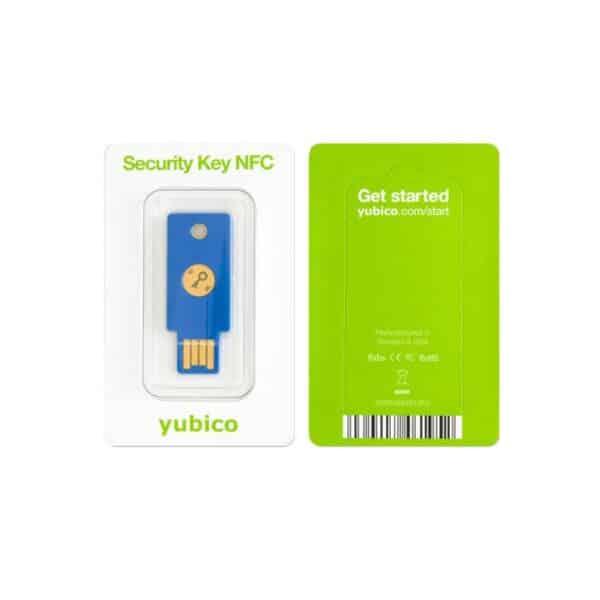 Yubico Security Key NFC- verpakking